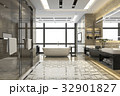 浴室 現代 装飾のイラスト 32901827