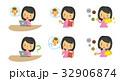 妊婦のセット【二頭身・シリーズ】 32906874