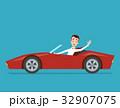 ビジネスマン 実業家 自動車のイラスト 32907075