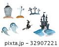ハロウィン 水彩 水彩画のイラスト 32907221
