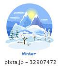 ウィンター ウインター 冬のイラスト 32907472