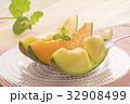 メロン 赤肉メロン マスクメロンの写真 32908499