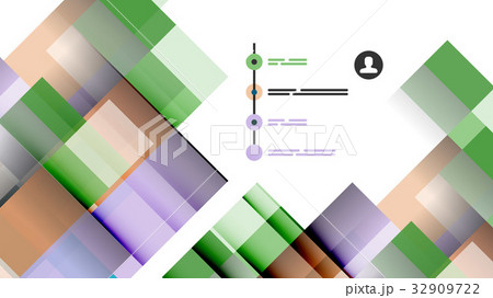 Business presentation geometric templateのイラスト素材 [32909722] - PIXTA