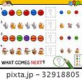 educational pattern game for children 32918805