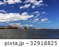 福岡タワー 街並み 海の写真 32918825