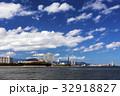 福岡タワー 街並み 海の写真 32918827