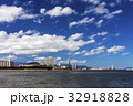 福岡タワー 街並み 海の写真 32918828