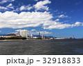 福岡タワー 街並み 海の写真 32918833