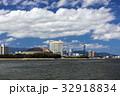 福岡タワー 街並み 海の写真 32918834