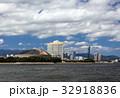 福岡タワー 街並み 海の写真 32918836