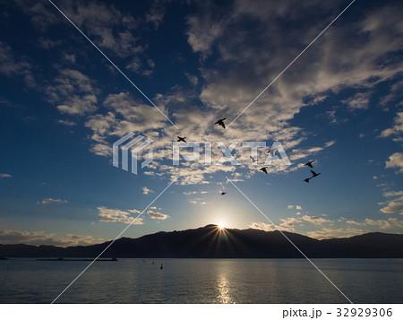 月山からの日の出 32929306