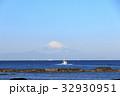 漁船 富士山 船の写真 32930951