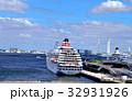 船 桟橋 港の写真 32931926