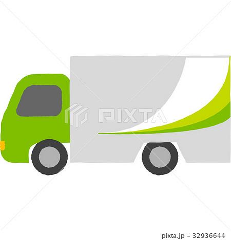 宅配便のトラック 32936644