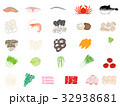鍋 食材 セットのイラスト 32938681