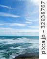 海 荒海 海岸の写真 32938767