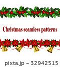 シームレス ベクトル クリスマスのイラスト 32942515