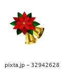 Vector Christmas decorative corner 32942628