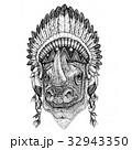 動物 ワイルド 野生のイラスト 32943350