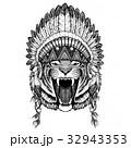 刺青 ワイルド 野生のイラスト 32943353