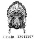 ワイルド 野生 野生化のイラスト 32943357