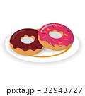 ドーナツ 洋菓子 ドーナッツのイラスト 32943727