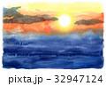 夕焼け空 32947124