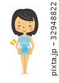 妊婦帯【二頭身・シリーズ】 32948822