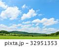 青空 夏 北海道の写真 32951353