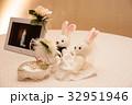 ぬいぐるみ ウサギ 写真の写真 32951946