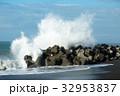 高波 波 海の写真 32953837