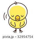 お辞儀するヒヨコさん 32954754
