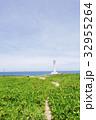 残波岬 沖縄 海の写真 32955264