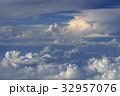 空撮 雲 32957076