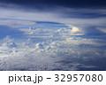 空撮 雲 32957080