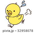 走るヒヨコさん 32958078