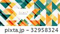 三角 三角形 パターンのイラスト 32958324
