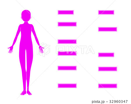 鍼灸治療の適応疾患図2(ピンク色・説明なし) 32960347