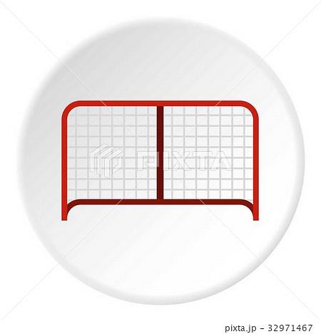 Hockey gate icon circleのイラスト素材 [32971467] - PIXTA