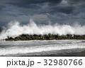 海 波 消波ブロックの写真 32980766