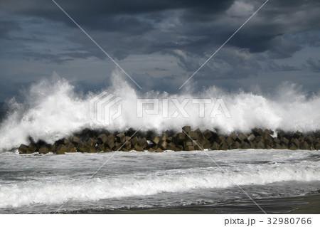 台風接近1 32980766