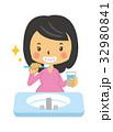 歯磨き【二頭身・シリーズ】 32980841