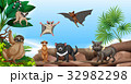 Wild animals on the mountain 32982298