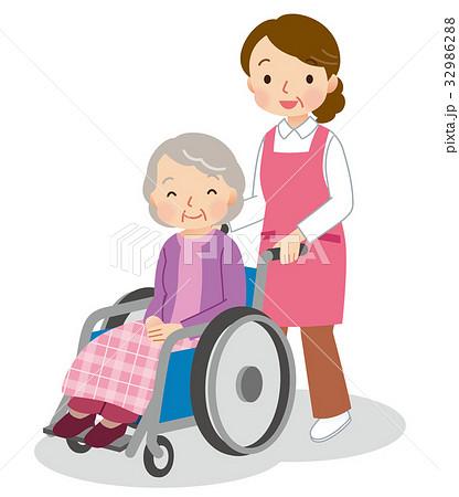 介護 ヘルパー 高齢者 32986288