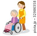 介護 ヘルパー 高齢者 32986358