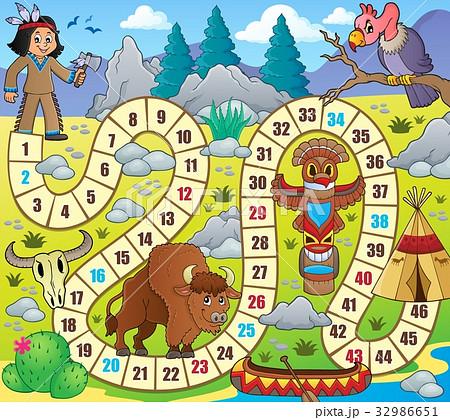 Board game topic image 1のイラスト素材 [32986651] - PIXTA