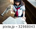 吹奏楽部 女子高生 32988043