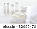 石鹸 タオル バスタオルの写真 32990478