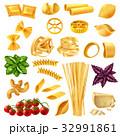 食 料理 食べ物のイラスト 32991861