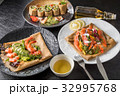 ガレット クレープ フランス料理の写真 32995768